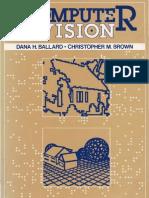 Ballard D. and Brown C. M. 1982 Computer Vision