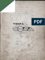 Manual Despiece Vespa Cosa