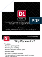 Plyometric Training for Acceleration