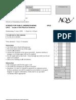 AQA-SPU2-W-QP-JUN09