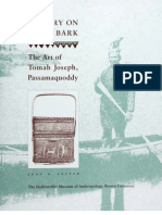 HISTORY ON BIRCHBARK The Art of Tomah Joseph, Passamaquoddy