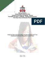Projeto de Leitura e Escrita