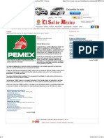 31-01-12 Saldo positivo de casi 25 mil mdd en balanza comercial en 2011 PEMEX