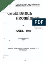 Arderea a Cruşovlei (Sterie Papa Sotir), Calendarul Aromanesc Pe Anul 1911