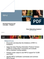 Chapter 7 RIPv2