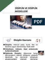 2010- 2011 SINIF YÖNETİMİ SUNUMU 10 - DİSİPLİN
