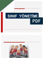 2010- 2011 SINIF YÖNETİMİ SUNUMU 11 - DAVRANIŞ OLUŞTURMA