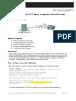 Using a TFTP Server to Upgrade a Cisco IOS Image