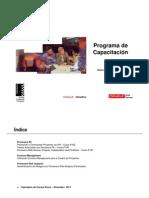 Programa de Capacitacion 2011 (2)