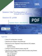 Configuration of VIO on Power6