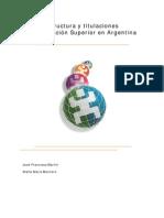 educación superior argentina