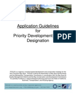 PDA Application Guidelines