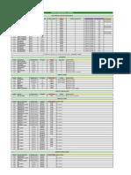 Fuji-Xerox Precios y Códigos 2009
