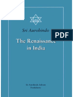 The Renaissance in India the Complete Works of Sri Aurobindo