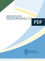 Reporte de sostenibilidad Universidad PUCV Chile 2010_reporte