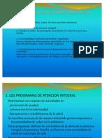 Atencion Integral de Salud 2011