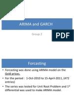Arima and Garch