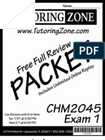 Spring 2012 CHM2045 Exam 1
