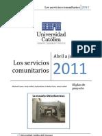 La Obra Banneux- Uruguayan elementary school- El Plan de Los Proyectos de los servicios comunitarios PDF