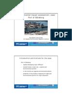 IVL_EIA Case Port of Goteborg