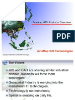 AvisMap GIS Products Overview