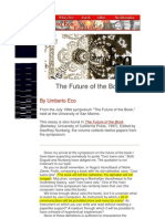 The Future of the Book - By Umberto Eco