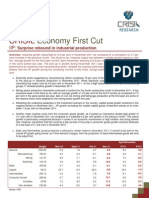 Economy First Cut IIP - January 2012
