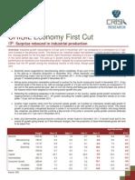 Economy First Cut IIP - January 2012