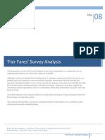 Fair Fares Survey Analysis