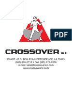 Product Catalog for Crossover