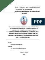Formato Informe Trabajo Indice 2010 100 %