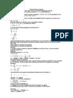 Cálculo del interés compuesto