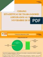 Estadisticas IMSS Noviembre 2011