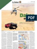 Dakar en tierras incaicas