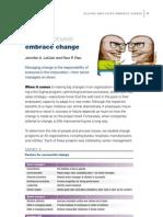 Change Management . Helping Employees Embrace Change