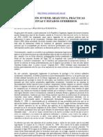 PENALIZACIÓN JUVENIL SELECTIVA, PRÁCTICAS EDUCATIVAS Y ESTADOS GUERREROS  (O Marcon)
