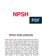 Understanding NPSH