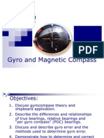 Gyro and Magnetic Compass 1029