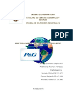 P&G y ambiente