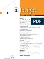 Open Insight Vol.II (n.2), julio 2011