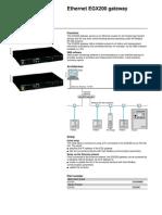 EGX - Datasheet