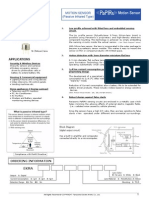Panasonic - EKMA PaPIRs Motion Sensor