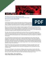 28/01/2012 Revolutionary Socialists Cleanse Maspero