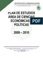 4.11 Plan de Area Ciencias Economic As y Politicas 2009 - 2010