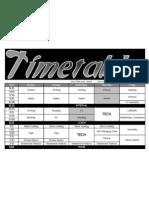 2012 Timetable R5