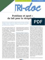 87 Proteines Et Sport