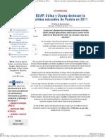 15-01-12 econsulta - BUAP, Udlap y Upaep destacan la política educativa de Puebla en 2011