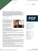 17-01-12 Milenio - Gobierno Mantiene Plan de Austeridad