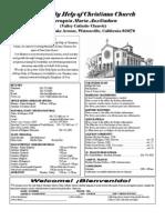 Parish Bulletin 2-05-2012
