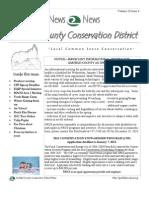 Winter 2010 Garfield County Conservation District Newsletter